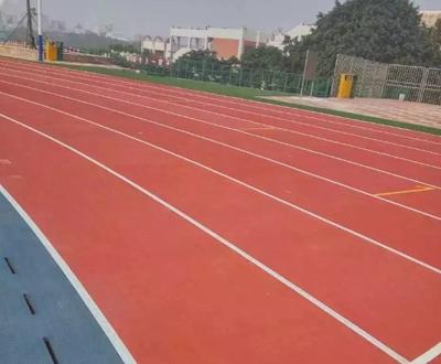 浙江丽水预制型环湖跑道